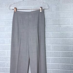 MaxMara Pants & Jumpsuits - MaxMara Wool Blend High Rise Trouser Pants Cream 2